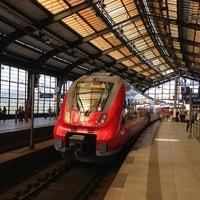 Photo taken at Berlin Friedrichstraße Railway Station by Matthias A. on 5/19/2013