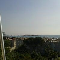 Photo taken at Ögmeiş Sahil by Mina ★. on 4/28/2014