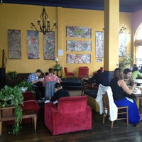 Photo taken at Claire de Lune Coffee Lounge by Carolyn F. on 2/16/2013