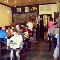 Photo taken at Foxy Falafel by Christopher F. on 7/13/2013