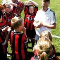 Photo taken at Voetbalvereniging DVV by Jurgen K. on 6/6/2015
