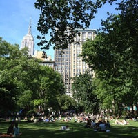 Photo taken at Madison Square Park by Trixie +. on 6/5/2013