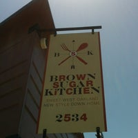 Photo taken at Brown Sugar Kitchen by Terence M. on 5/25/2013