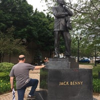 Photo taken at Jack Benny Plaza by Shelley M. on 6/17/2017