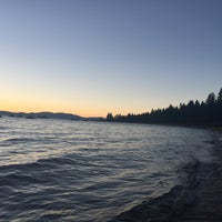 Photo taken at Cabin Lake Tahoe VRBO by Elien J. on 7/17/2016
