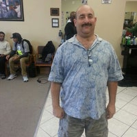 Photo taken at All Star Barber Shop by Robert G. on 2/16/2013