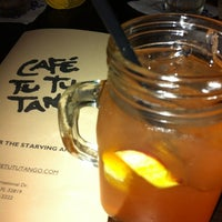 Photo taken at Café Tu Tu Tango by Paula K. on 1/17/2013