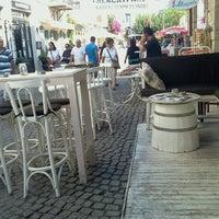 Photo taken at Alaçatı Shot Bar by cemal e. on 10/14/2012