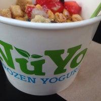 Photo taken at NuYo Frozen Yogurt by Caro B. on 10/9/2016