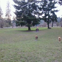 Photo taken at French Lake Off-Leash Dog Park by Leona P. on 2/15/2013