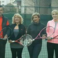 Photo taken at Atakoy Tenis Kortlari by Aylin F. on 5/4/2016