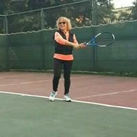 Photo taken at Atakoy Tenis Kortlari by Aylin F. on 4/12/2016