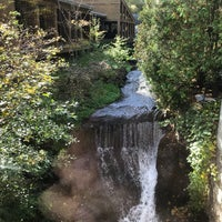 Photo taken at Ancaster Old Mill by Ben Y. L. on 10/22/2017