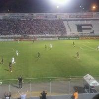 Photo taken at Estádio Moisés Lucarelli by Marcelo T. on 9/16/2012