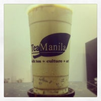 Photo taken at Tea Manila by Gem E. on 7/29/2014