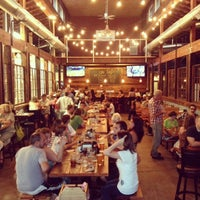Photo taken at Grain Station Brew Works by Nic M. on 9/26/2013
