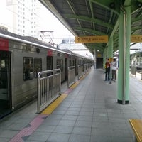 Photo taken at Guro Stn. by Hyun woo S. on 5/15/2013