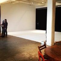 Photo taken at Ten Ton Studio by Barret W. on 1/16/2013