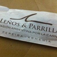 Photo taken at Leños & Parrilla by Mil e Uma Viagens (. on 10/23/2012