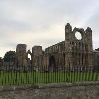 Photo taken at Elgin Cathedral by Carmen M. on 8/12/2017