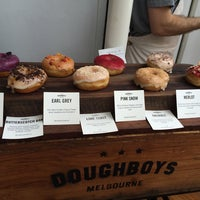 Photo taken at Doughboys Doughnuts by Gloria N. on 10/25/2014