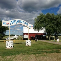 Photo taken at EAA Airventure Ultralight Barn by Chris M. on 7/23/2013