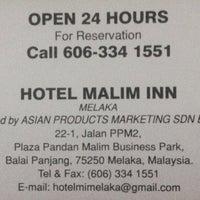Photo Taken At Hotel Malim Inn By Azmeer M On 7 17 2014