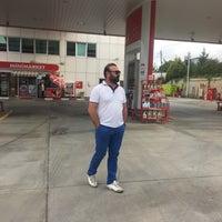 Photo taken at Lukoil-Akademi Petrol by Tuncay A. on 7/13/2016