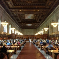 Photo taken at New York Public Library by Bhaskar G. on 6/15/2013