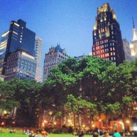 Photo taken at Bryant Park by Marquis B. on 6/10/2013
