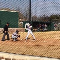 Photo taken at Richardson High School Baseball Field by Kirsten O. on 3/6/2014