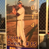 Photo taken at Richardson High School Baseball Field by Kirsten O. on 3/26/2014