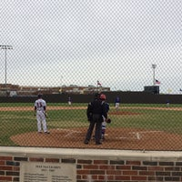 Photo taken at Richardson High School Baseball Field by Kirsten O. on 4/5/2014