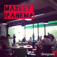 Photo taken at Market Ipanema by Lipe B. on 1/19/2013