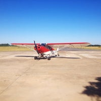 Photo taken at Aero Club Chascomus by Andee A. on 1/4/2014