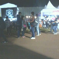 Photo taken at simPATI Kickfest The Journey 2013 by Riski M. on 6/2/2013
