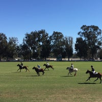 Photo taken at Will Rogers Polo Club by Jonathan S. on 9/20/2015
