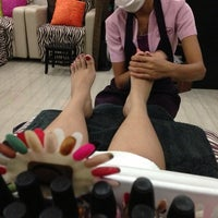 Photo taken at Elite Nails - Hand, Foot and Body Spa by Pae E. on 6/2/2013