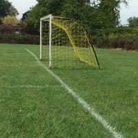 Photo taken at St. John's Soccer Playfield by Nikki M. on 9/20/2014
