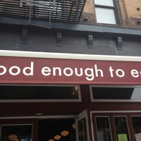 Photo taken at Good Enough to Eat by md l. on 5/22/2013