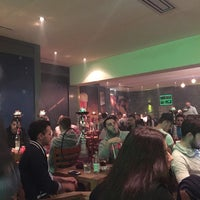 Das Foto wurde bei Binzgarten Shisha Lounge von Victoria K. am 10/10/2014 aufgenommen