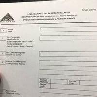 Photo taken at Lembaga Hasil Dalam Negeri (LHDN) by shian s. on 4/28/2017