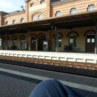 Photo taken at Bahnhof Bernburg by Manfred S. on 6/27/2014