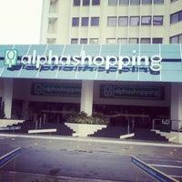 Foto tirada no(a) AlphaShopping por Danillo H. em 4/7/2013