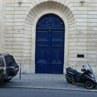 Photo taken at Rue de Varenne by Tonio T. on 4/10/2016