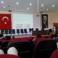 Photo taken at Çeşme Halk Eğitim Merkezi by dogan g. on 7/22/2014