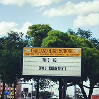 Photo taken at Garland High School by Audie R. on 6/26/2014
