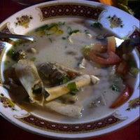 Photo taken at Sop Kaki Kambing Bang Udin by Ƨ ® إ Ǩ on 7/28/2015