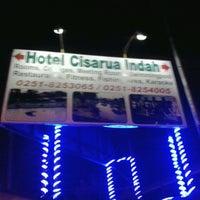 Photo taken at Hotel Cisarua Indah by Nidaul Muiz A. on 8/24/2013