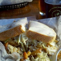 Photo taken at Lucky's Sandwich Co. by Jackie G. on 10/21/2012